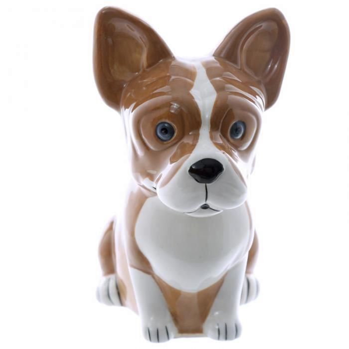 Tirelire Bulldog Francais (Céramique)