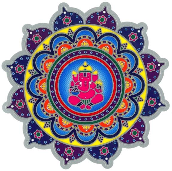 Autocollant Attrape Soleil - Ganesh