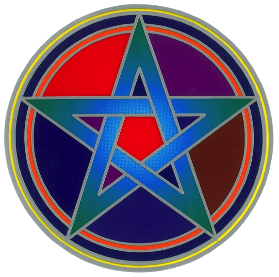 Autocollant Attrape Soleil - Pentacle Mystique