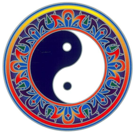 Autocollant Attrape Soleil - Yin et Yang