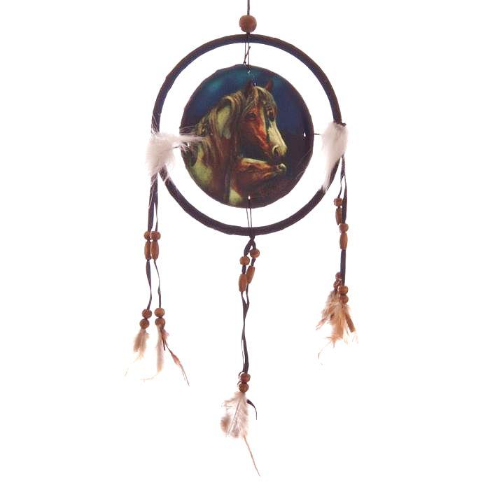 Attrape Rêves Le Cheval Apache (16 cm)