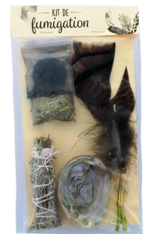 Kit de Fumigation Sauge, foin d\'odeur, cèdre