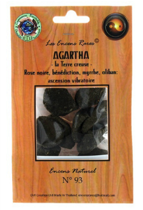 Agartha la terre creuse - Ascension Vibratoire - (Encens rares 25gr)