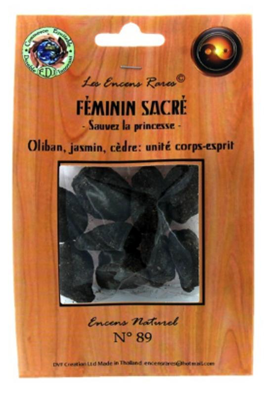 Féminin Sacré - Corps et Esprit - (Encens rares 25 gr)