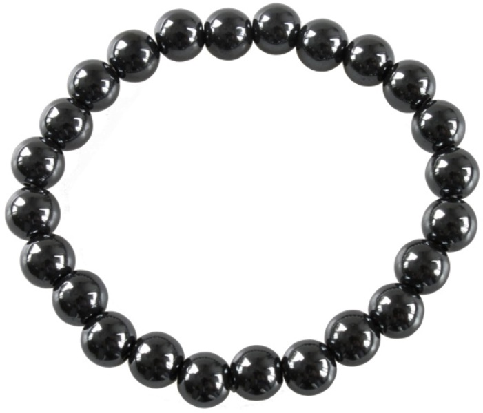 Bracelet en Hématite naturel 8mm