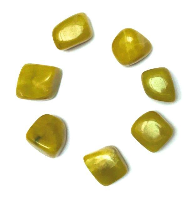 Jade Citron de Chine roulée (2 cm)
