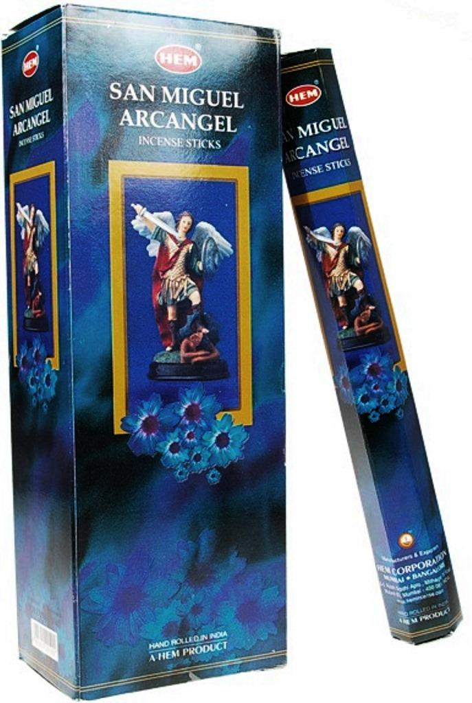 Encens Saint Michel Archange lot de 6 boîtes