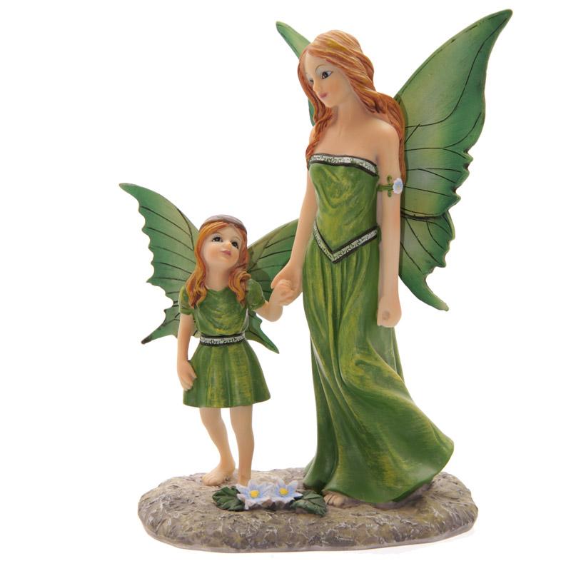 Contes de fées Lisa Parker Fée de la Nature et son Enfant