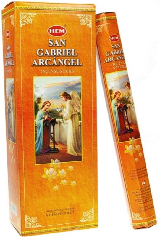 Encens Saint Gabriel Archange lot de 6 boîtes