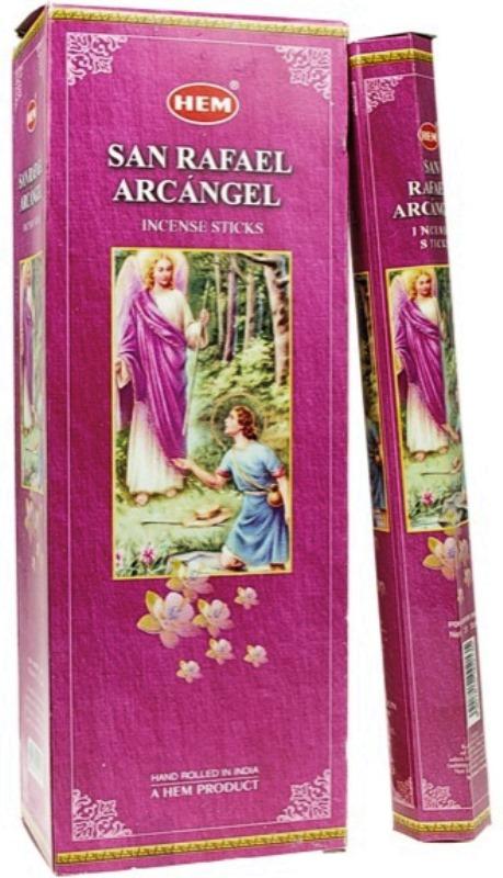 Encens Saint Raphael Archange lot de 6 boîtes
