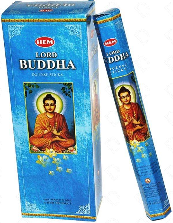 Encens Lord Bouddha lot de 6 boîtes