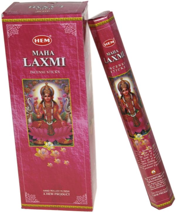 Encens Maha Laxmi lot de 6 boîtes