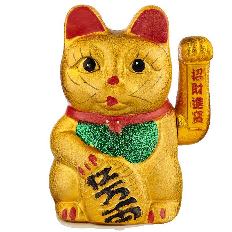 Chat porte bonheur Maneki Neko 17cm