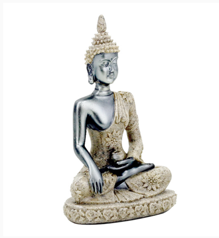 Statuette Bouddha sable (10cm)