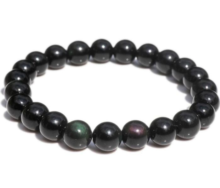 Bracelet Obsidienne Oeil céleste (8 mm)