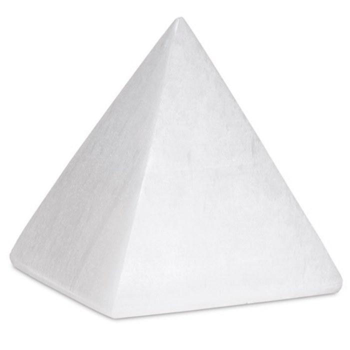 Pyramide en Sélénite (4 cm)