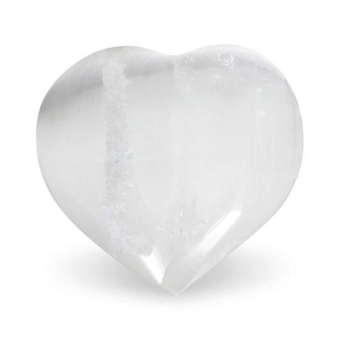 Coeur en Sélénite (4,5 cm)