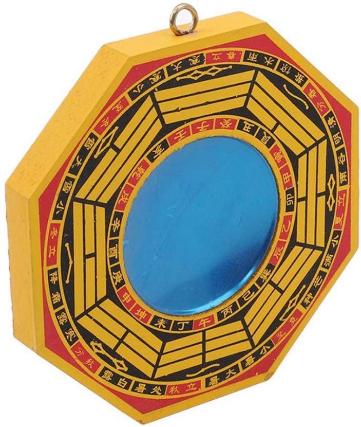 Miroir Feng Shui Bagua convexe (13 cm)