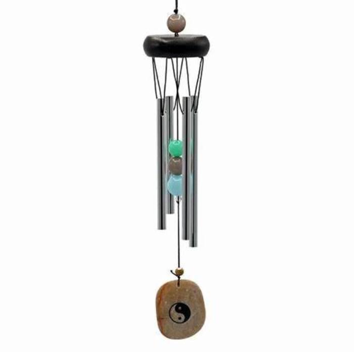 Carillon à vent 4 tubes Yin Yang