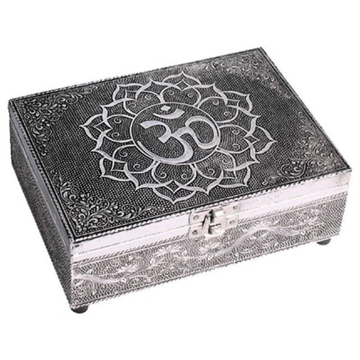 Boîte de tarots motif Om | 18 x 13 cm