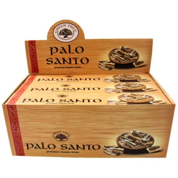 Encens Green Tree - Palo Santo | Lot de 12 Boites