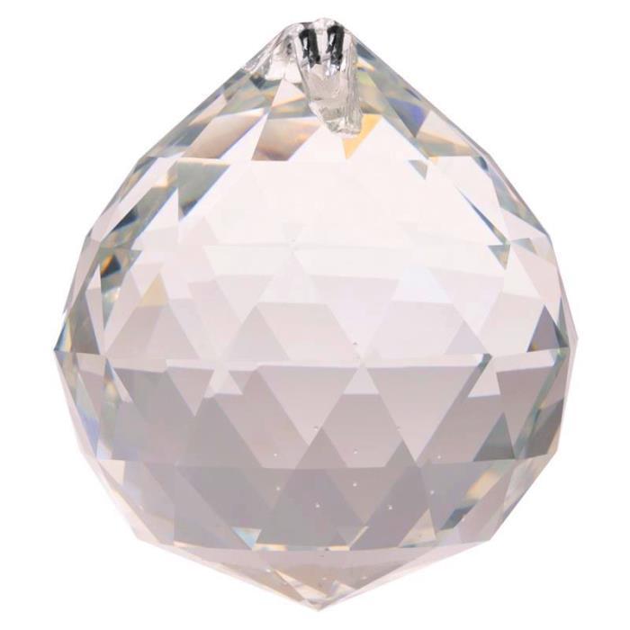 Cristal arc-en-ciel en forme de sphère | 5 cm