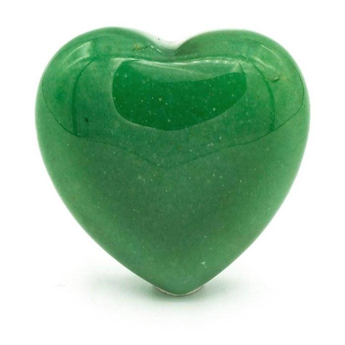 Aventurine en forme de cœur | 3 cm