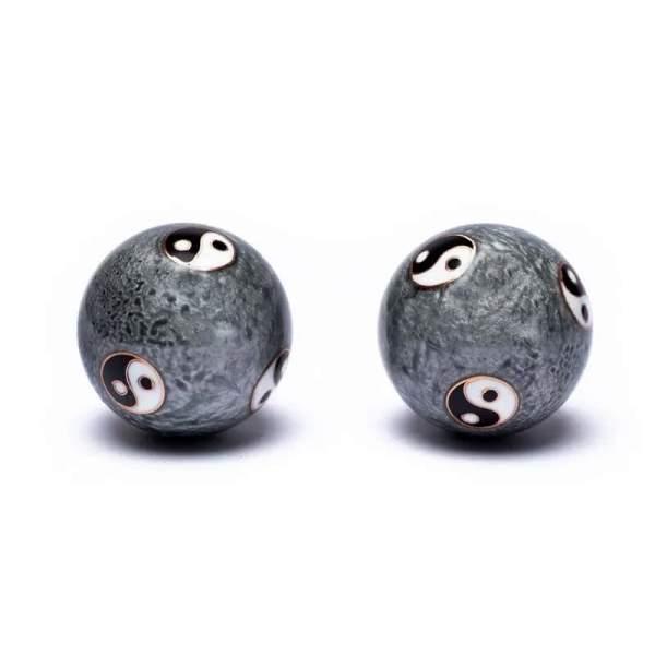 boule-sante-qi-gong-feng-shui-motif-yin-et-yang-tai-chi-gris