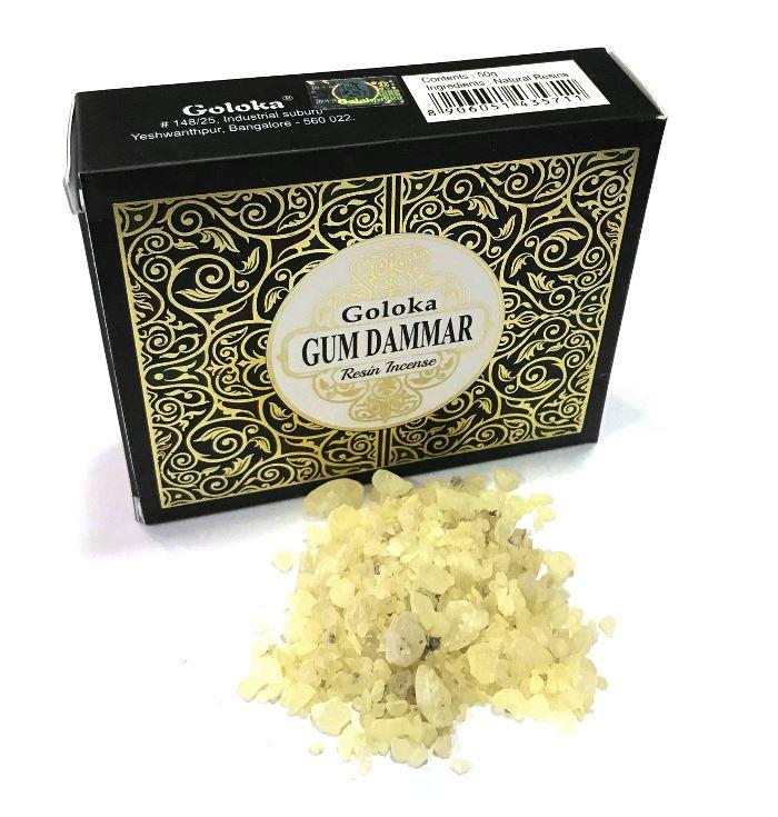 Gum dammar encens grains Goloka | 50g