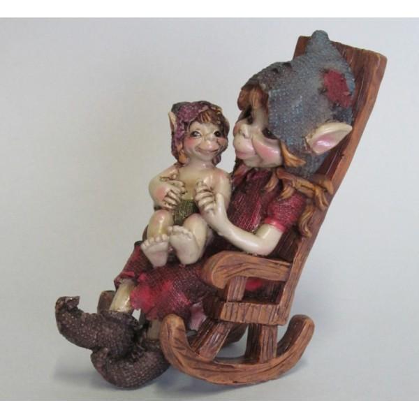 Maman Pixie et son Enfant