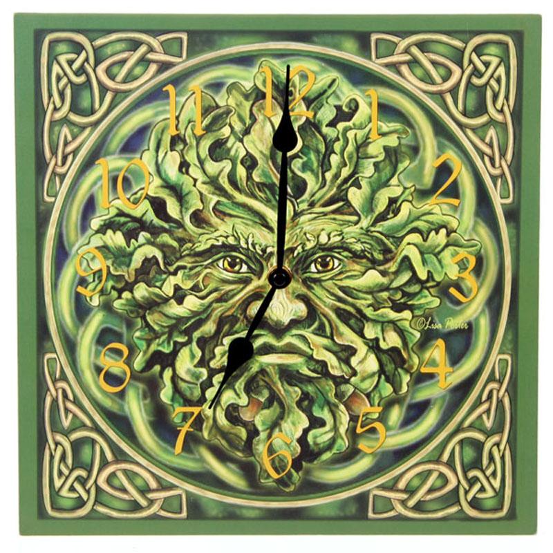 Horloge Imprimée - Homme vert
