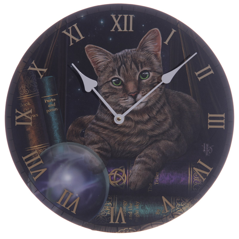 Horloge Imprimée - Chat par Lisa Parker
