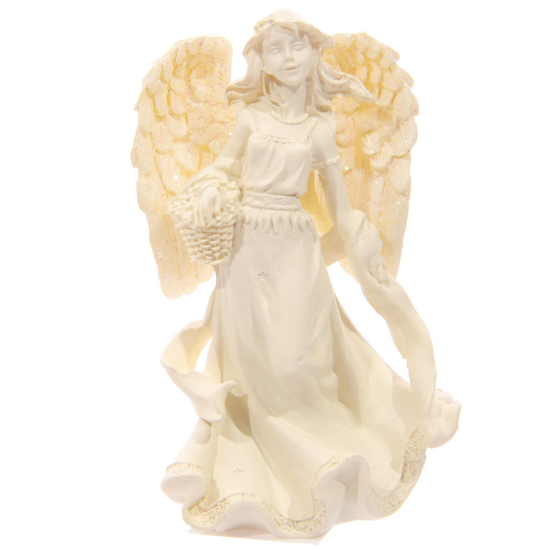 Figurine Ange Crème 7 cm Modèle D
