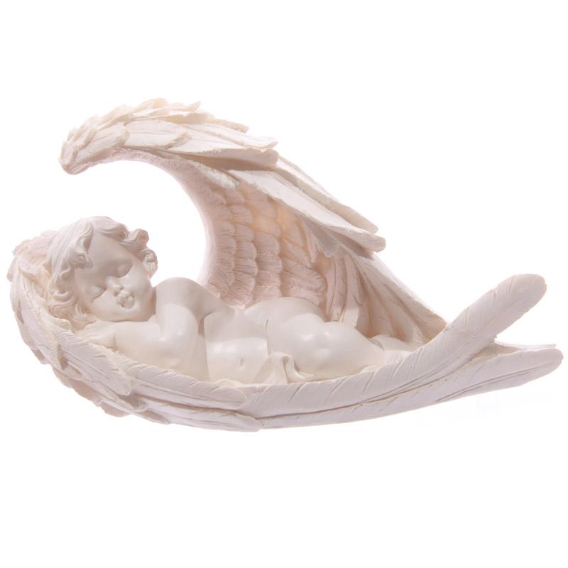 Chérubin Blanc dans  Lit ailes d\'Ange Modèle B