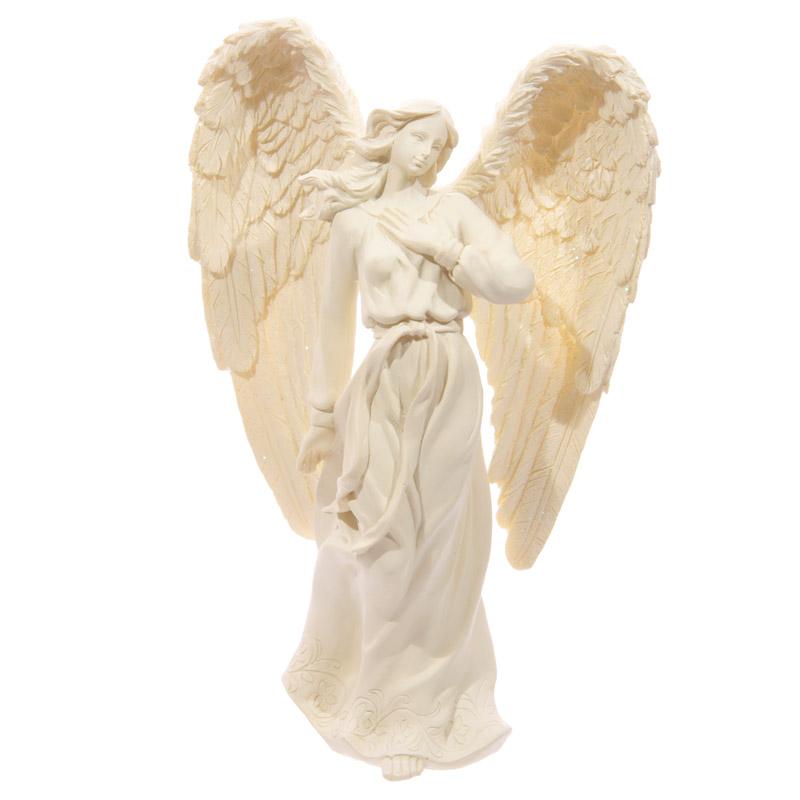 Figurine d\'Ange Crème 23cm Modèle B