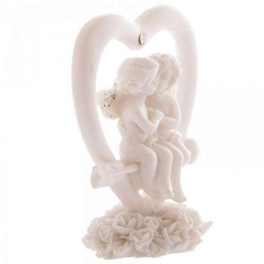 Anges Amoureux sur Flèche de Cupidon ( Lot de 3 )  CHE74-Lot (4)