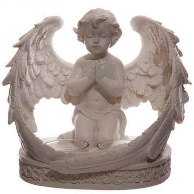 Bougeoir Figurine Ange Chérubin  CHE105 (1)