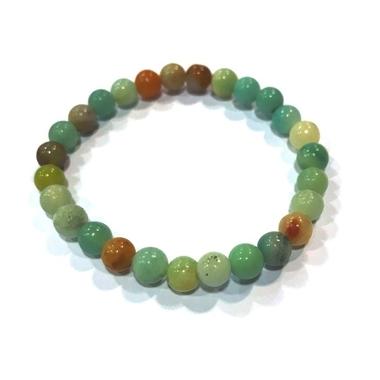 Bracelet Amazonite Perles Rondes (6 mm) (2)