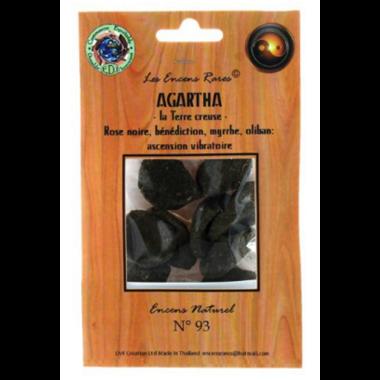 Agartha la terre creuse - Ascension Vibratoire - (Encens rares 25gr) (2)