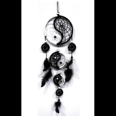 Attrape Rêves Yin Yang (12 cm) (1)