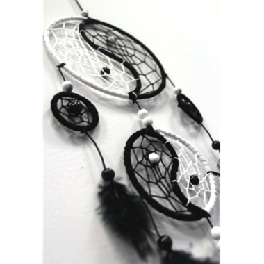Attrape Rêves Yin Yang (12 cm) (2)