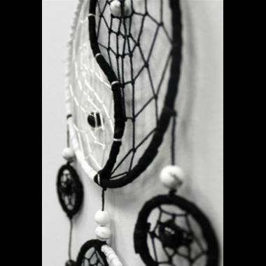 Attrape Rêves Yin Yang (12 cm) (3)