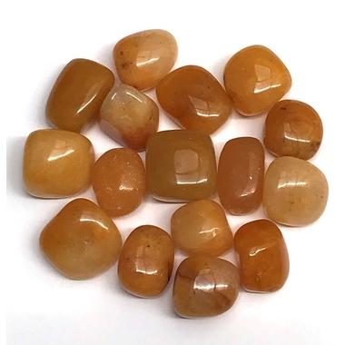 Pierre roulée calcite orange véritable et naturelle (1)