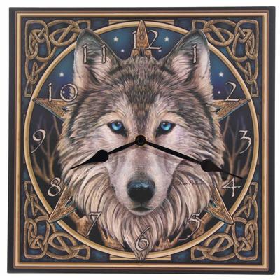 Holorge Imprimée - Tête de Loup Celtique par Lisa Parker
