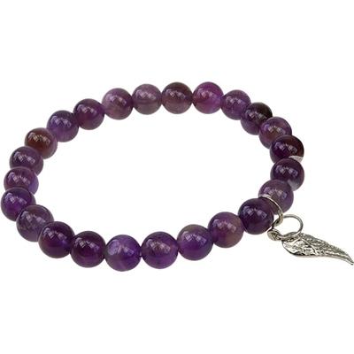 Bracelet Art de la chance - Améthyste