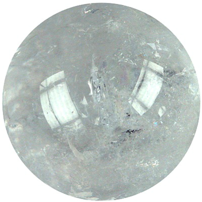 Sphère Cristal de Roche 40 mm - La pièce