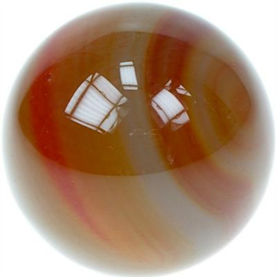 Sphère Cornaline 40 mm - La pièce