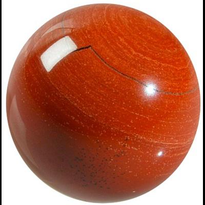 Sphère Jaspe Rouge 40 mm - La pièce