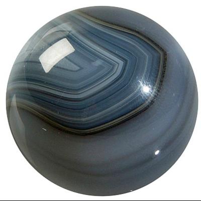 Sphère Agate brune 40 mm - La pièce