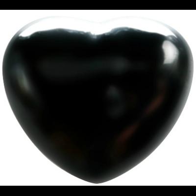 Coeur Hématite 45 mm - La pièce